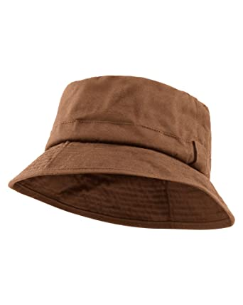 Cotton Traders Mens Womens Waterproof Waxed Hat  Amazon.co.uk  Clothing 784335d27ae
