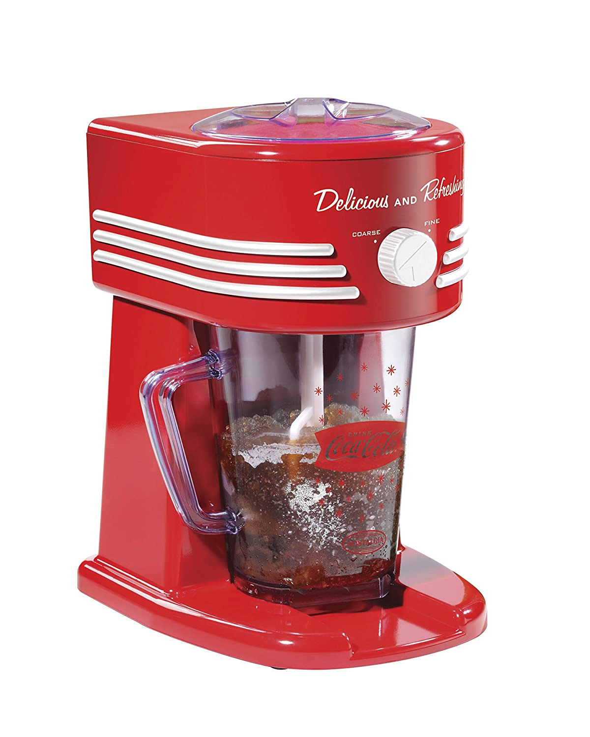 Nostalgia Coca-Cola 40-Ounce Frozen Beverage Station