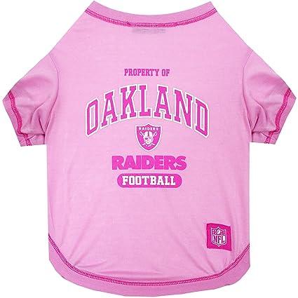 9bc1a15b1 Amazon.com   Pets First Oakland Raiders Pink T-Shirt