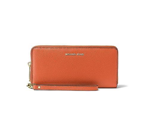 Michael Kors - Cartera para mujer de Cuero Mujer, naranja (naranja) - 32F6GM9E9L