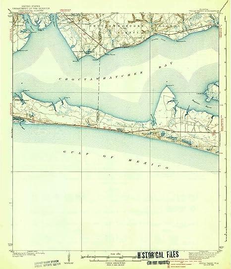 Amazon.com : YellowMaps Villa Tasso FL topo map, 1:62500 ...