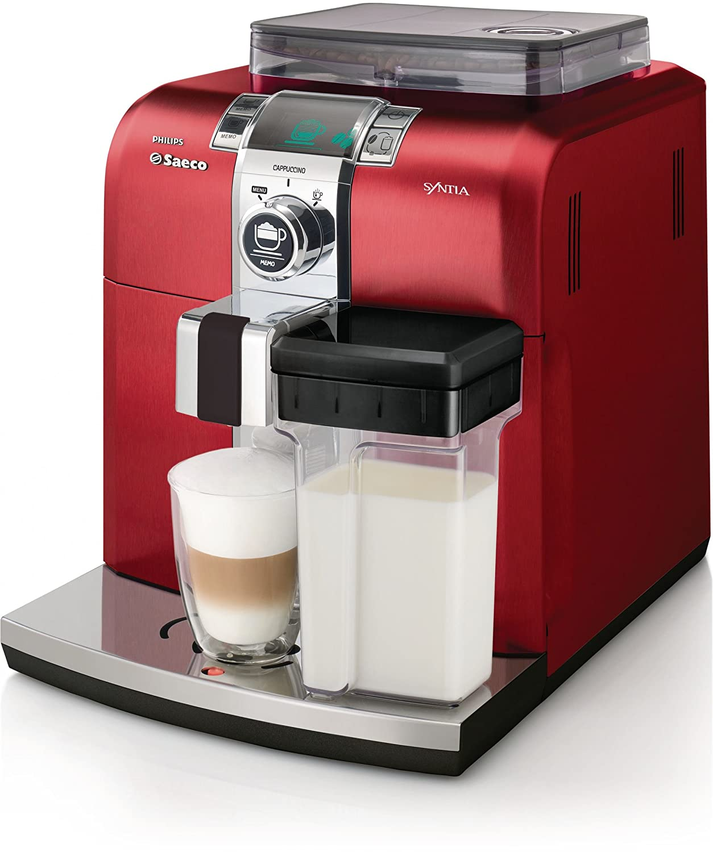 Saeco Syntia HD8838/32 - Cafetera (Máquina espresso, 1,2 L, Granos ...