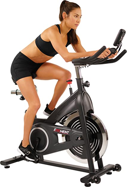 Stationary Exercise Bikes Adjustable Resistance APP CTL ANCHEER Indoor Cycling