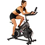 EFITMENT Indoor Cycle Bike, Magnetic Cycling Trainer Exercise with Belt Drive, LCD Monitor and Pulse Monitor