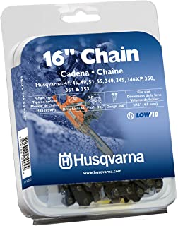Husqvarna 531300437 16-Inch H30-66 (95VP) Pixel Saw Chain, .