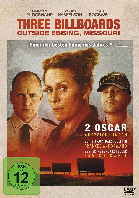 Cover: Three Billboards Outside Ebbing, Missouri 1 DVD (circa 111 min)