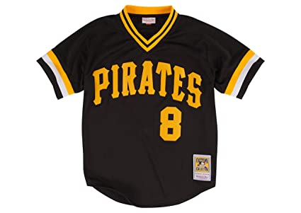 beca5147a greece amazon willie stargell pittsburgh pirates 8 mitchell ness mens  batting practice mesh jersey sports outdoors