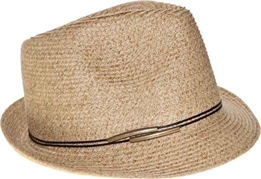 Amazon.com  Nine West Womens Cord Band Packable Fedora Hat One Size ... 545fd0b14a6