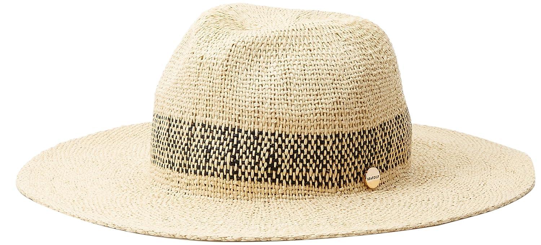 3e4f89a88 Seafolly Women's Stripe Fedora, Shady Lady Black, One Size at Amazon ...