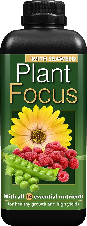 Growth Technology Ltd Plant Focus 1 Litre Liquid Plant Fertilizer