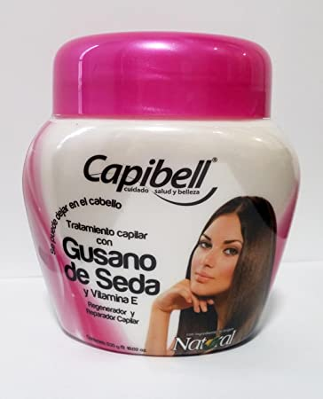 Capibell Tratamiento Capilar con Gusano De Seda Silkworm Hair Treatment 530g 18.02 fl Oz