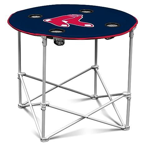 Amazon Com Logo Brands Mlb Boston Red Sox Round Table Sports