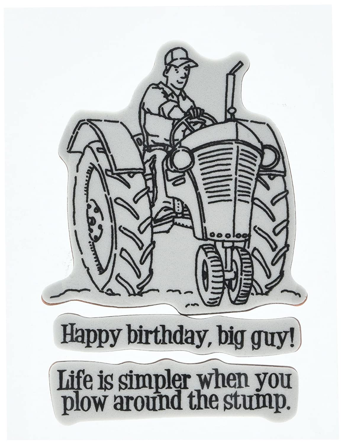 Penny Black 40-371 Life is Simpler Cling Stamp