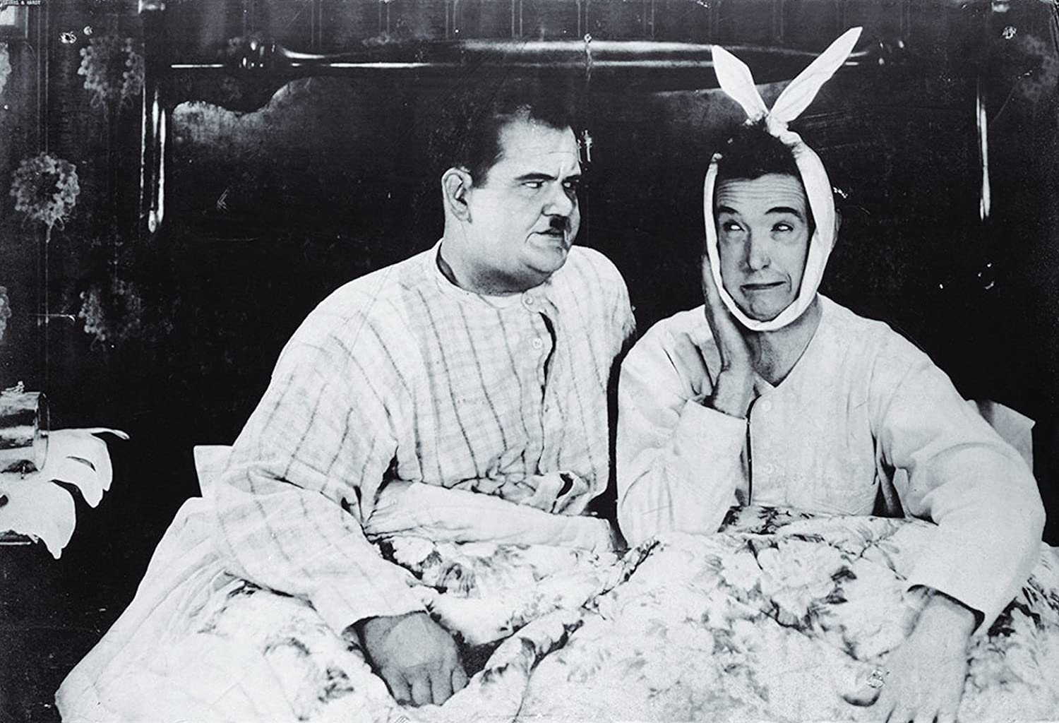 Laurel and Hardy Poster as seen in Joey and Chandlers Apartment – Laurel and Hardy Birthday Cards