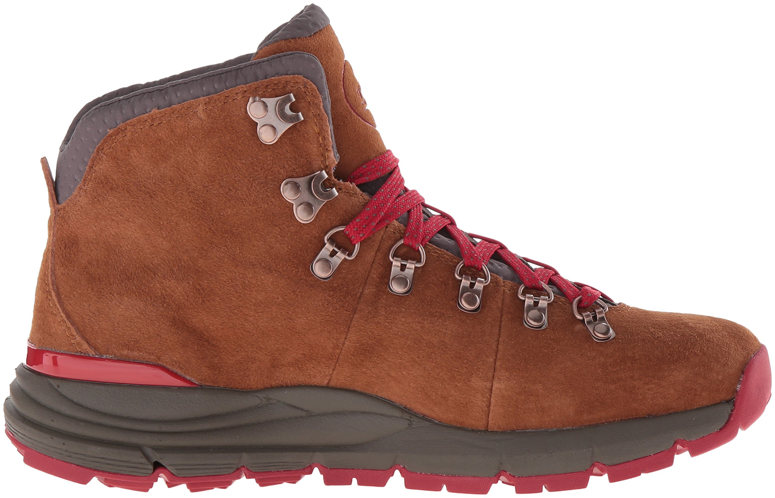 Danner Women's Mountain 600 4.5'' Hiking Boot, Brown/Red, 8.5 M US by Danner (Image #7)