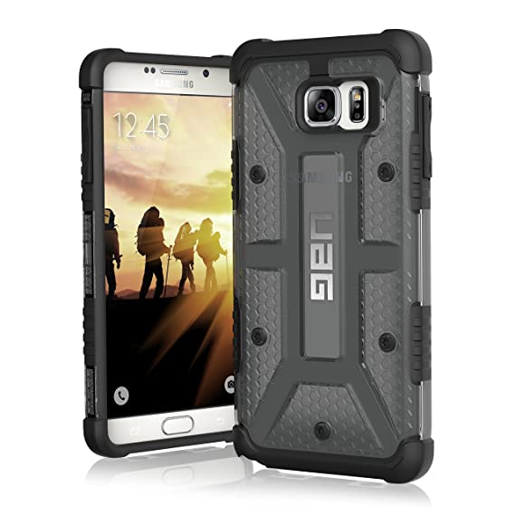 best service 6d159 87d17 UAG Samsung Galaxy Note 5 Feather-Light Composite [ASH] Military Drop  Tested Phone Case
