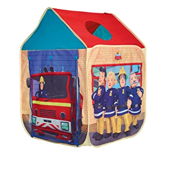 GetGo Fireman Sam Wendy House Play Tent  sc 1 st  Amazon UK & GetGo Fireman Sam Wendy House Play Tent: Amazon.co.uk: Toys u0026 Games