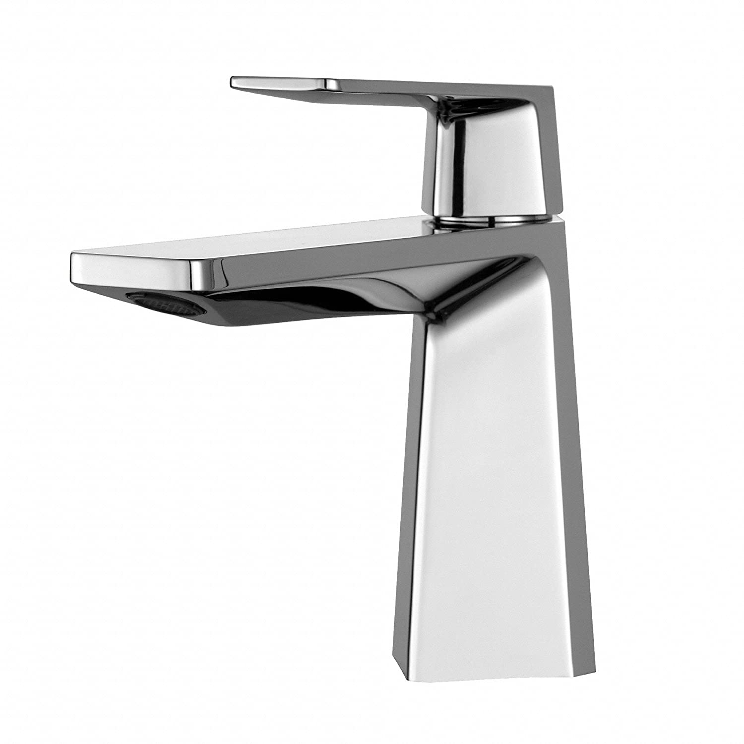 Kraus KEF-15301CH Aplos Single Lever Basin Bathroom Faucet Chrome ...