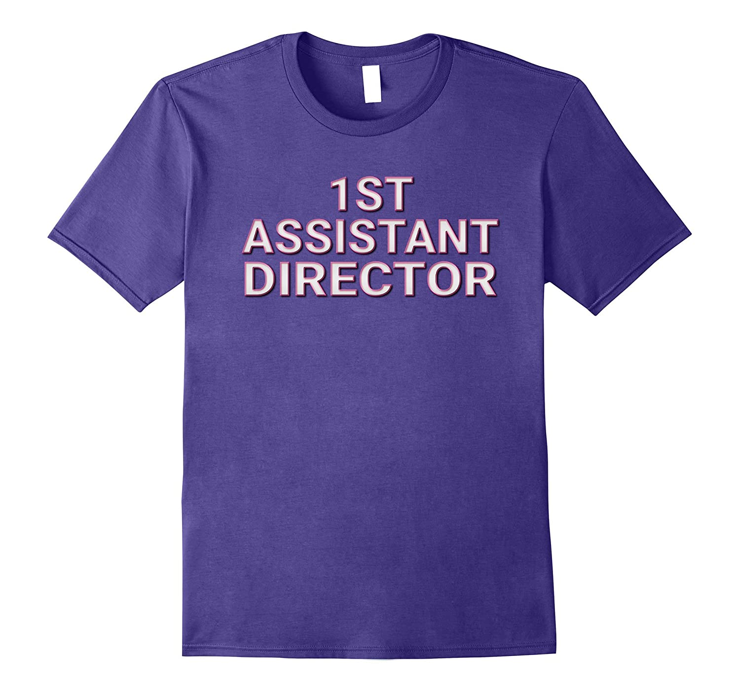 1st Assistant Director Matching Film Crew TV Set T Shirts-PL