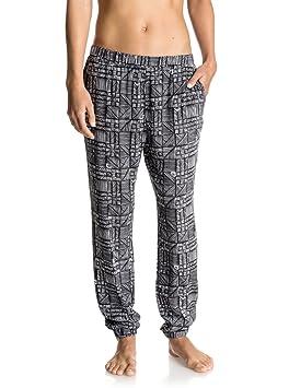 FemmeAnthracite Beachouse Roxy GeoFrStaille Easy Pantalon FlcT1KJ