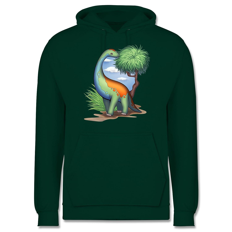 Shirtracer Sonstige Tiere Tiere Tiere - Dino - Langhals - Herren Hoodie B0769Z3Q96 Pullover Moderner Modus a91812