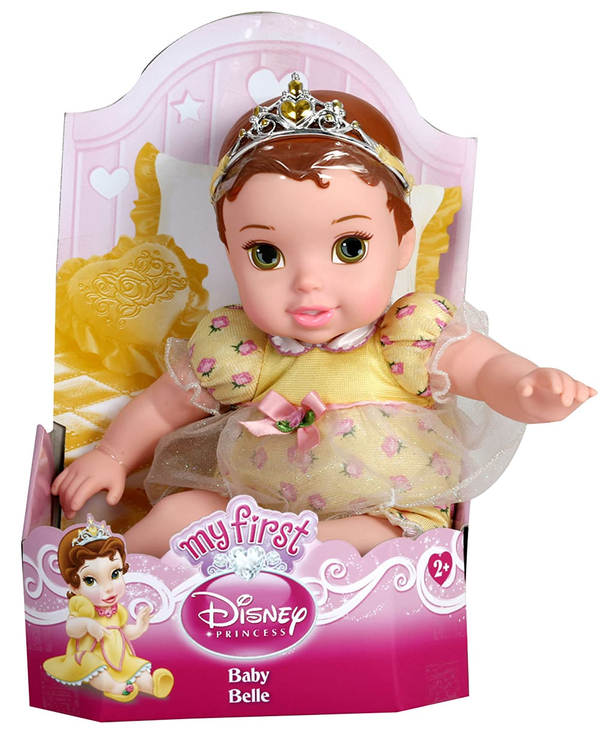 amazon com my first disney princess baby doll belle style will