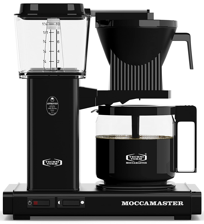 Technivorm Moccamaster 59462 KBG Coffee Brewer 40 oz Black