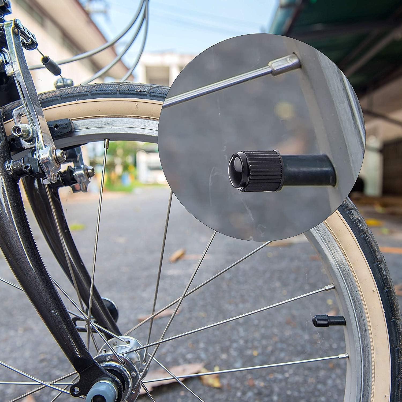 4 Pièces Bouchons de valve Dés Noir Moto Voiture Vélo Bike Camion Voiture