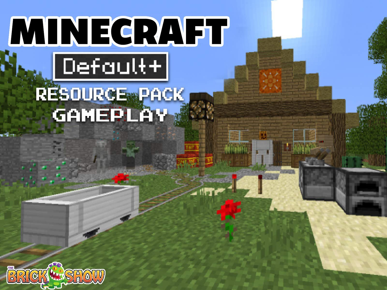 Watch Clip Michael Play S Minecraft Default Resource Pack Prime Video