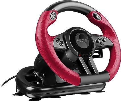 SpeedLink - Trailblazer Volante De Carreras, Color Negro (PS4, PS3 ...