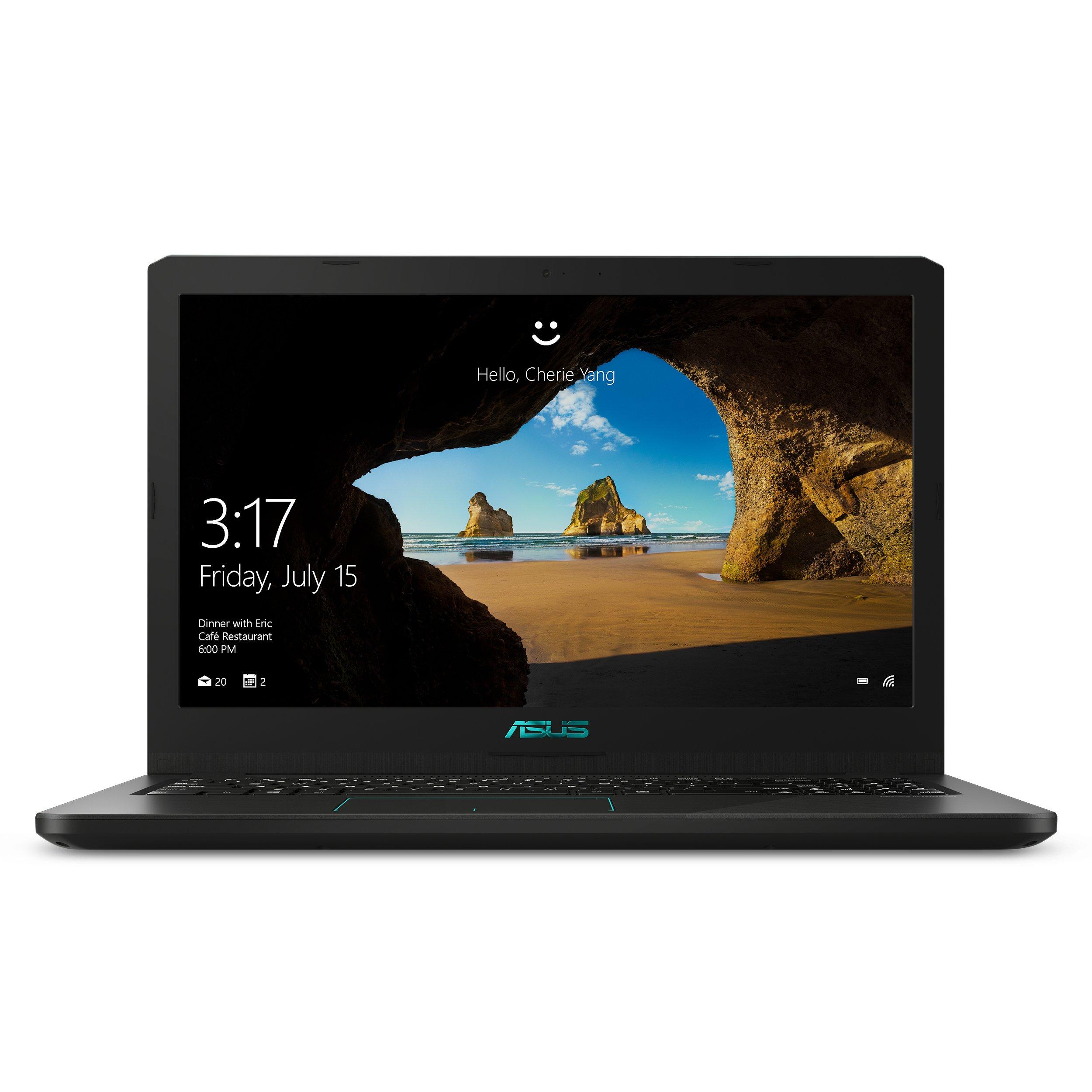 ASUS VivoBook K570U (K570UD-ES54) Intel i5-8250U, NVIDIA GeForceGTX 1050 2GB, 8GB RAM, 256GB SSD, 15.6-in FHD LCD, Win10…