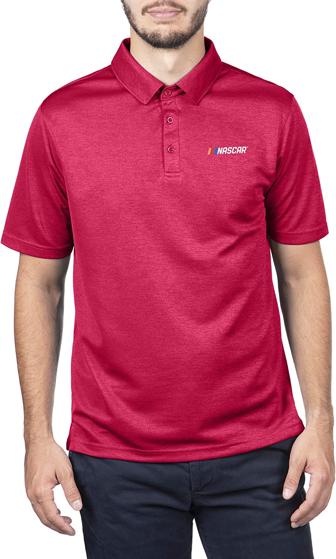 NASCAR Branded Merchandise Core Icon Fan Favorite Red Polo