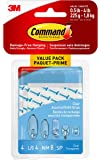 Command Clear Replacement Strips, 8 Small, 4 Medium, 4 Large, (17200CLR-C)