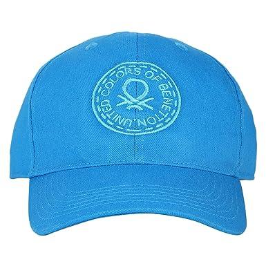 United Colors of Benetton Men s Baseball Cap (0IP6CAPBE142I-44D-ST Blue St) fbc07516e394