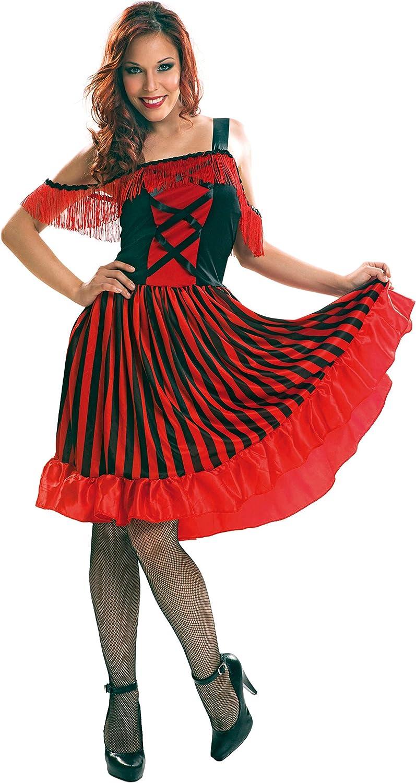 My Other Me Me-200900 Saloon Disfraz Can para mujer, M-L (Viving Costumes 200900): Amazon.es: Juguetes y juegos