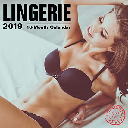 Image Unavailable. Image not available for. Color  Lingerie 2019 16 Month  Wall Calendar 12 x 12 Inches 0d5df1cd2