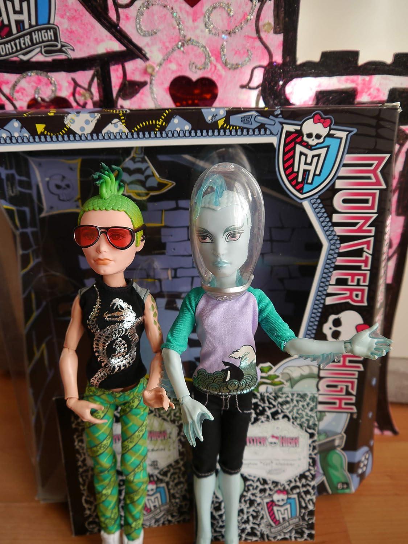 Monster High - Deuce Gorgon y Gil Webber: Amazon.es: Juguetes y juegos