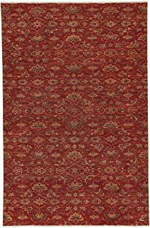 product image for Capel Illustrious Sienna 6' x 9' Rectangle Hand Knotted Rug