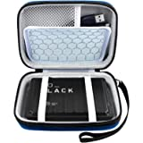 Hard Drive Case Compatible with Seagate Portable/Backup Plus Slim/Western Digital Elements/My Passport/WD Black P10 Game/Tosh