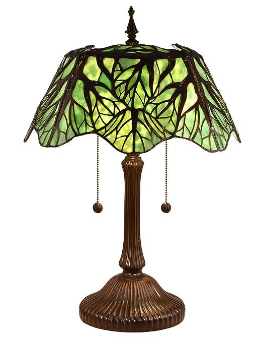 Amazon.com: Dale Tiffany tt15176 Penélope 2 luz 24