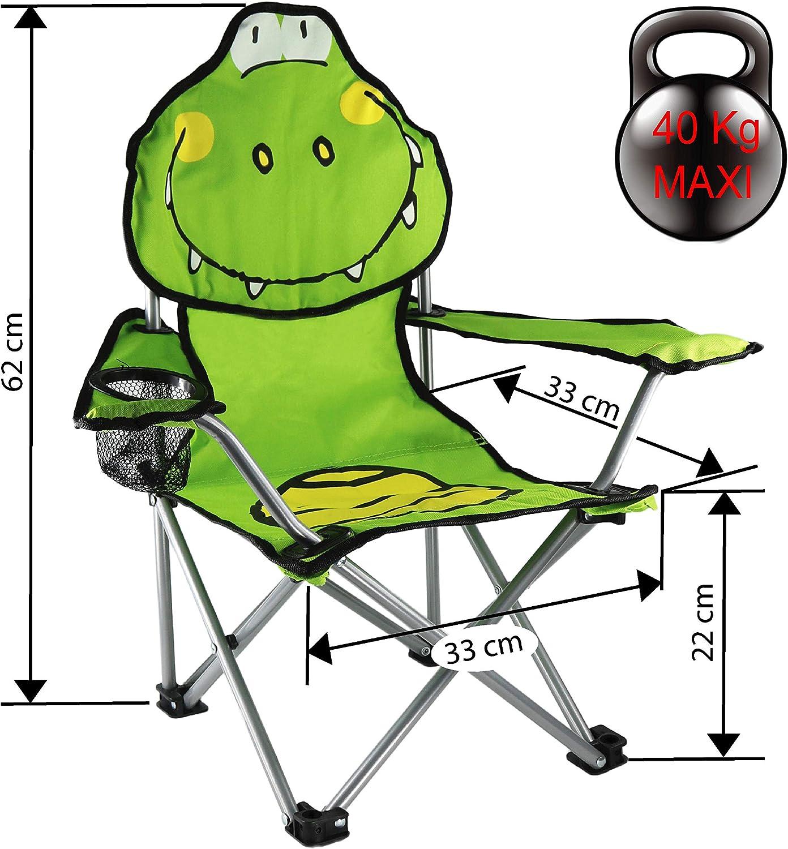 Verde Cao Croco Silla Unisex