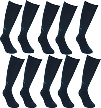 Slazenger 12 pares de calcetines largos para hombre algodón ...