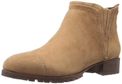 Nine West Women's Layitout Suede Boot, Dark Taupe, ...