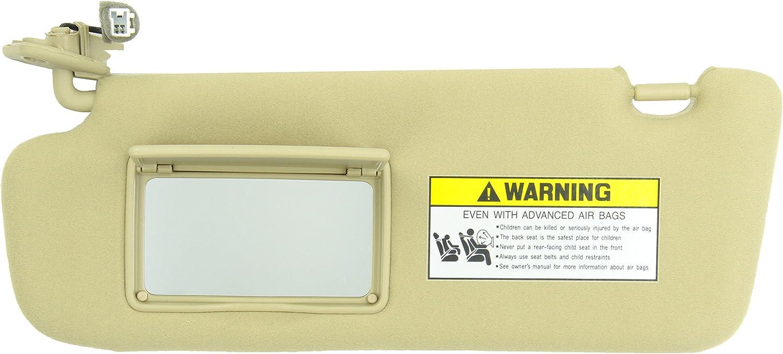 Left Genuine Hyundai 85201-0A750-QSQQH Sun Visor Assembly