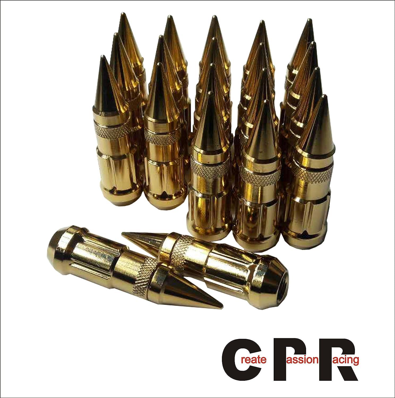品質の良い合金鉄六角ホイルナットリベット(17hex ) 48mm M12 * 1.5金色 B0727KPNP3