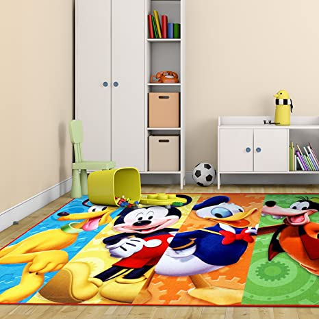 Buy Disney Mickey Mouse Clubhouse Rug HD Digital MMCH Kids ...