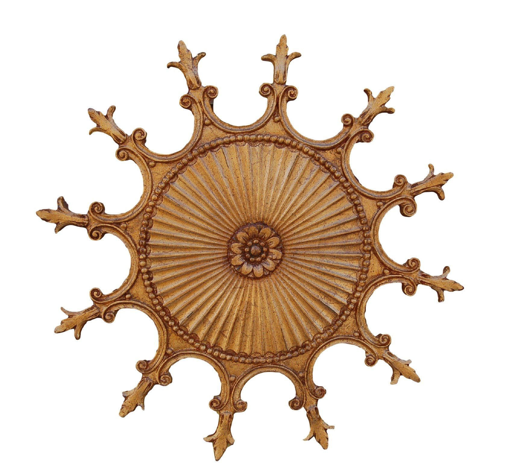 Hickory Manor House Scalloped Ceiling Medallion/Baroque by Hickory Manor House