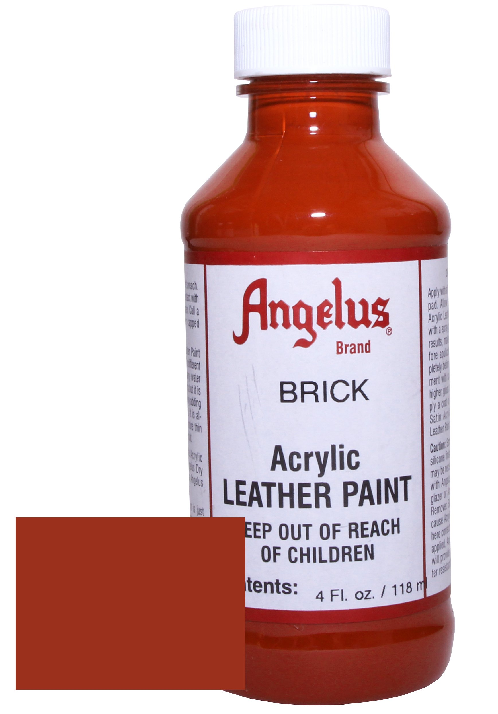 Angelus Pintura acrílica para cuero Ladrillo  118ml