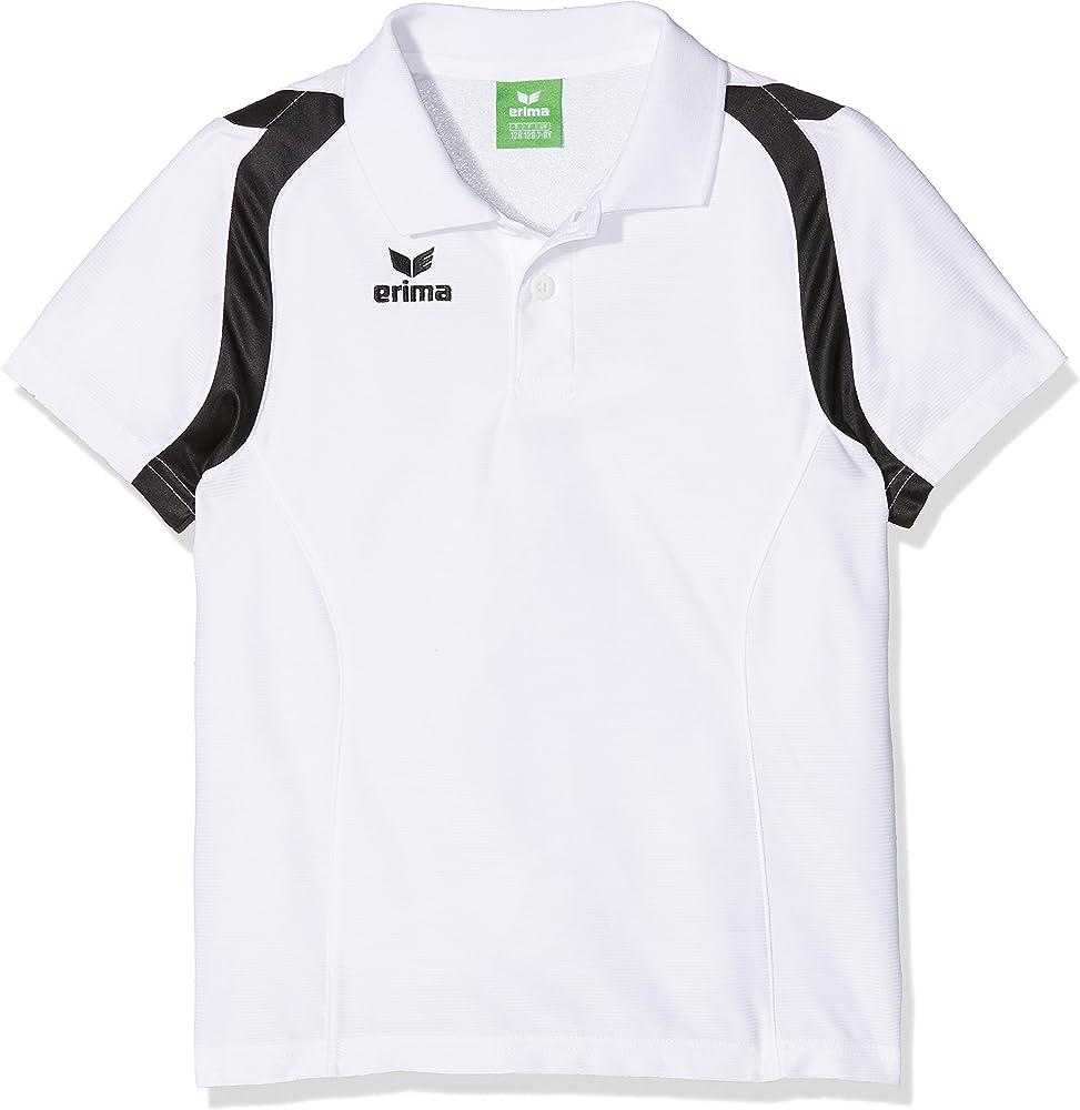 Erima GmbH Razor 2.0 Polo de Tenis, Unisex niños, Blanco/Negro ...