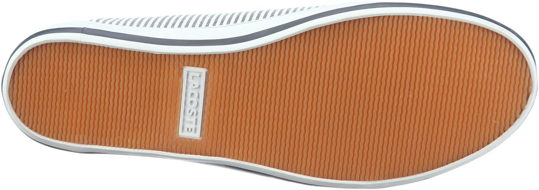 7520d67d2e Lacoste Marthe 5 723SRW10786X5 Ballerines pour femme - Blanc - Weiss  (Wht/Dk Navy 6x5), 42 EU: Amazon.fr: Chaussures et Sacs